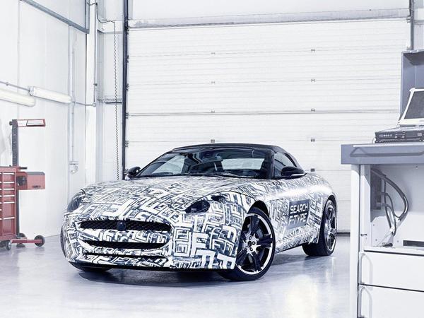 Jaguar confirme l'arrivée de la F-Type en 2013