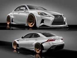 Du virtuel au réel : le gagnant du concours de design Lexus verra son IS au SEMA Show