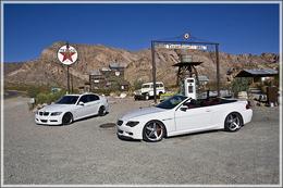 Duo de BMW in Las Vegas