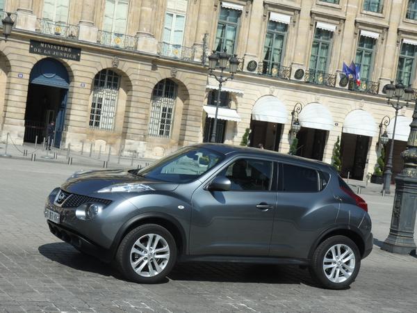 Le Nissan Juke restylé pour bientôt ?