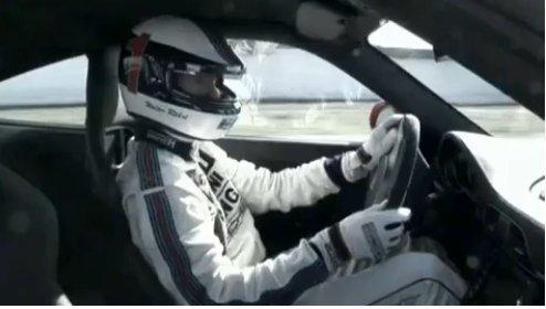 Walter Röhrl balade en Porsche 911 GT3