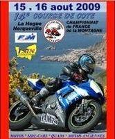 Course de côte moto, championnat de France de la montagne dans la Manche