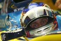 Heikki Kovalainen en visite en Pologne