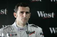 F1 : Pedro De La Rosa, visionnaire de l'équipe Vodafone McLaren Mercedes