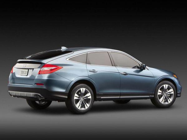 New York 2012 : Honda Crossstour restylé officiel