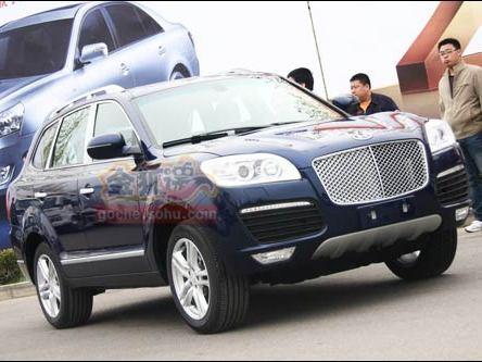 Pékin 2010 : Huatai B35 Concept, quand une Bentley gobe un Cayenne
