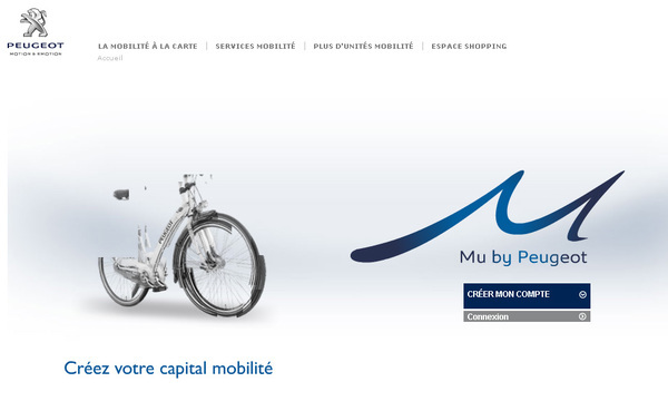 la nouvelle offre de service de mobilit mu by peugeot propos e paris. Black Bedroom Furniture Sets. Home Design Ideas
