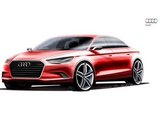 (Minuit chicanes) L'Audi A3 Concept comme paradigme?
