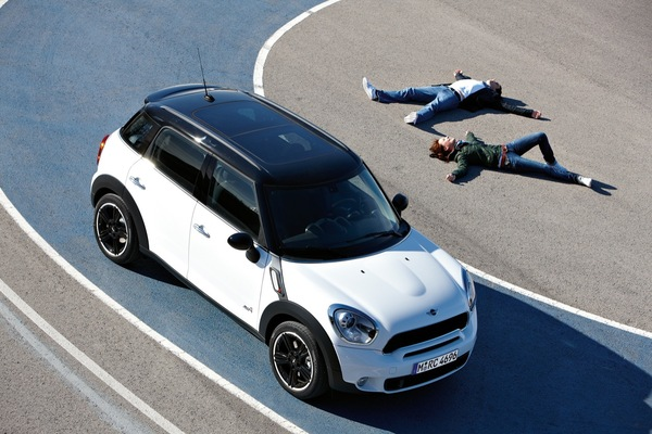 Mini Countryman : il est fun et officiel (53 photos HD)