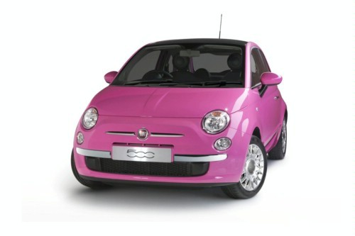 Fiat 500 Pink : gaie comme un pinson