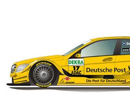 DTM: La poste donnera-t-elle des ailes à Coulthard?