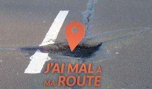 Une application sur smartphone pour signaler les routes en mauvais état