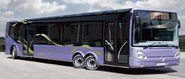 Bus hybride : le nouveau Concept HYNOVIS testé dans la capitale