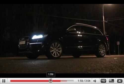 Réveil Auto - La mafia russe essaye l'Audi Q7 V12 TDI à sa façon