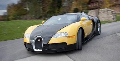La Bugatti Veyron coûte plus cher à l'utilisation qu'un jet privé