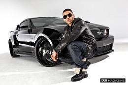 Détroit 2010 : Dub Mag et le rappeur Nelly présentent la Mustang GT 2010 Dub Edition