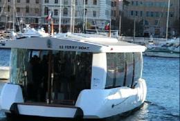 Le Ferry-Boat électro-solaire a été inauguré à Marseille
