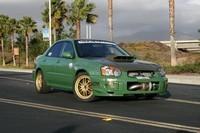Subaru Drag'.. 900 chevaux de bestialité..