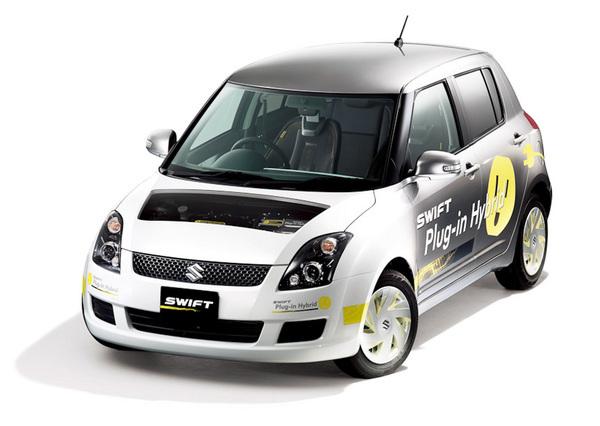salon de gen ve 2010 la suzuki swift hybride rechargeable. Black Bedroom Furniture Sets. Home Design Ideas