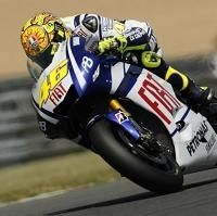 Moto GP - France D.1: Rossi heureux de son sort