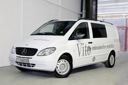 Un nouvel utilitaire non polluant : le Mercedes-Benz Vito électrique