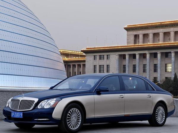 Pékin 2010 : Maybach restylée, la même en nouveau