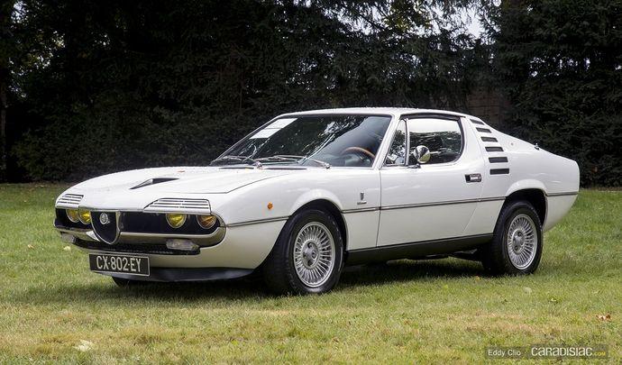 Photos du jour : Alfa Romeo Montreal Coupé 1972 (Concours d'Elegance de Chantilly)