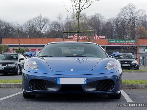 Photos du jour : Ferrari 430 (Cars & Coffee Paris)