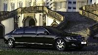 Mercedes S600 Pullman Guard: blindée