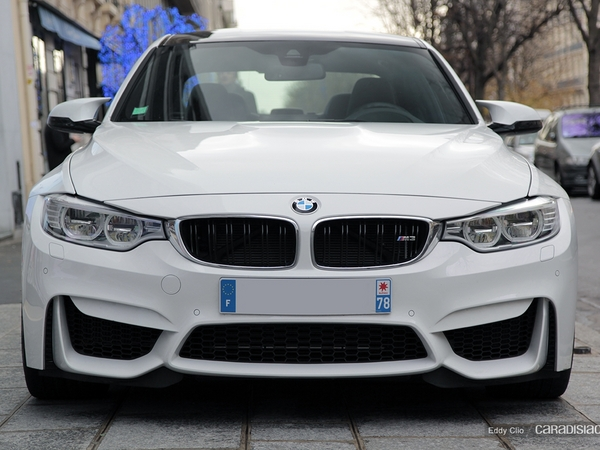 Photos du jour : BMW M3 F80
