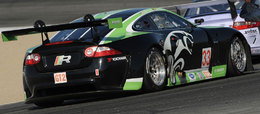 ALMS 2010: Goossens sur la Jaguar GT2 de RSR