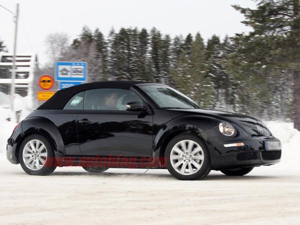 La future Volkswagen Coccinelle Cabriolet de sortie...