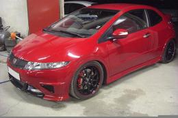 LR Performance colle un turbo à la Civic Type R !