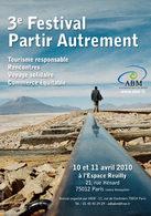Tourisme durable : le Festival Partir Autrement aura lieu en avril 2010