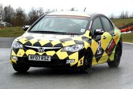 Honda Civic Hybride par Lotus-Oaktec : pour la compet'