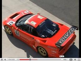 Réveil Rétro : Keiichi Tsuchiya essaie la Honda NSX Turbo GT1 du Mans