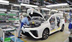 """Toyota élu constructeur le plus """"vert"""""""