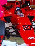 GP2: Bertrand Baguette en test