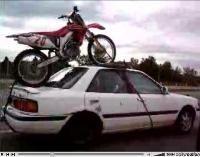 Vidéo moto : Régis part faire du tout terrain