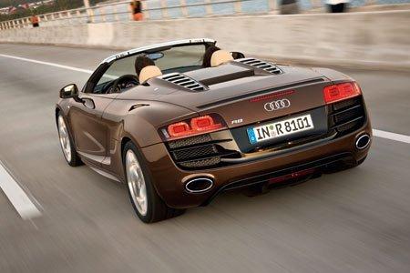 [Vidéo] l'Audi R8 Spyder en pleine promo