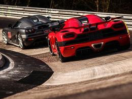 402 km/h sur la Nordschleife en Koenigsegg : qui dit mieux ?