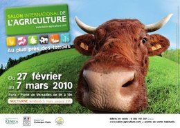 Salon de l'Agriculture 2010 : la recherche et l'agriculture combinées
