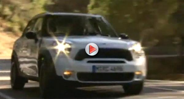 [Vidéo] Le nouveau Mini Countryman en dynamique
