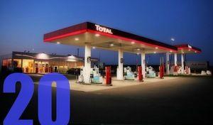 Caradrier de l'Avent - Combien de litres d'essence sont vendus chaque jour en France?