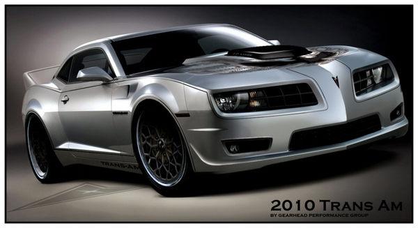 Pontiac Trans Am par Gearhead Performance : encore un travail sur base de Chevrolet Camaro