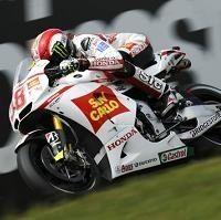 Moto GP - Allemagne D.1: Marco Simoncelli reste sur ses roues et signe le meilleur temps