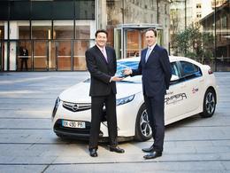 Accord entre General Motors France et EDF