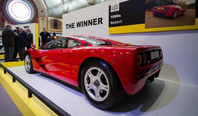 La McLaren F1 élue meilleure supercar de tous les temps au Royaume-Uni