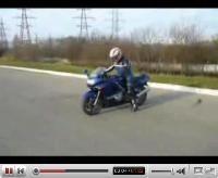 Vidéo moto : le smiley burné