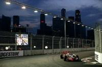 GP de Singapour: Hamilton est déjà devant.
